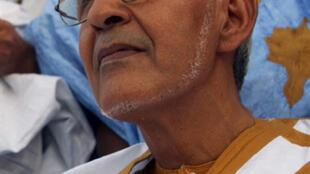 Ahmed Ould Daddah, chef du Rassemblement des forces démocratiques et chef de file de l'opposition mauritannienne.
