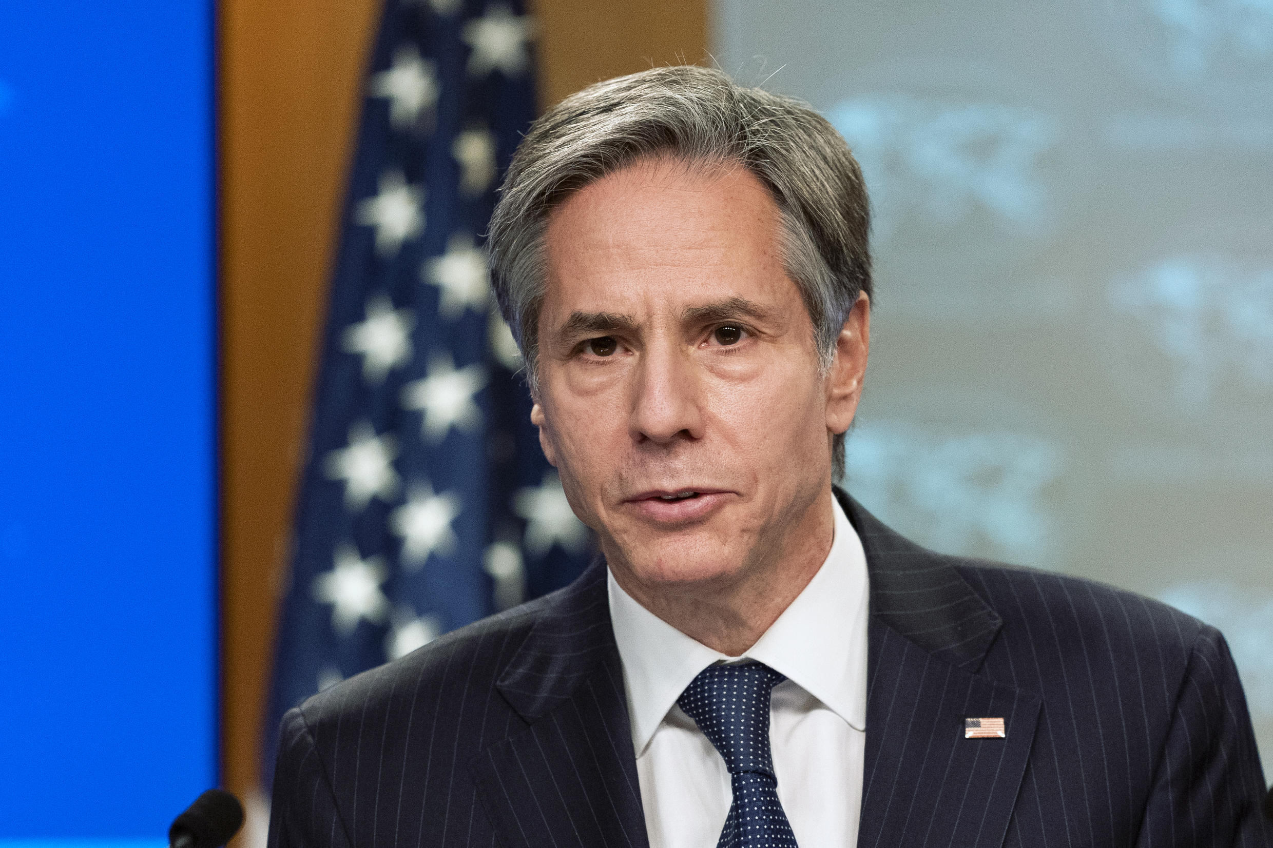 Secretary of State Antony Blinken has said the United States is 'gravely concerned' over the situation in Ethiopia's conflict-hit Tigray region