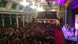 Nigel Farage avait choisi la salle du Winter Garden de Margate pour tenir sa grande conférence de printemps devant des sympathisants enthousiastes.