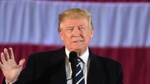 Le président élu Donald Trump, à Baton Rouge, le 9 décembre 2016.