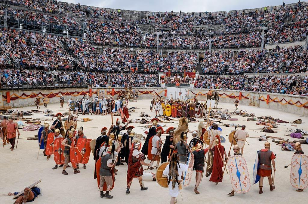 尼姆古羅馬競技場加德省觀光旅遊公園網站圖片