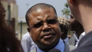 Nicolas Tiangaye, porte-parole de la COD 20-20 à Bangui (archives).
