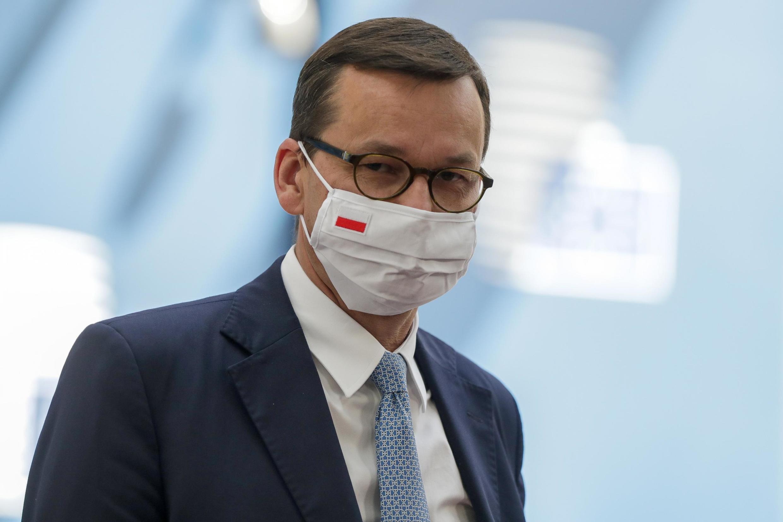 Премьер-министр Польши призвал Россию отказаться от планов военного вмешательства в Беларуси.