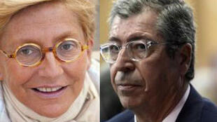 Isabelle and Patrick Balkany.