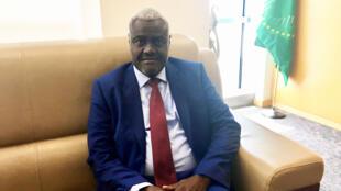 Moussa Faki Mahamat, le président de la Commission de l'Union africaine.