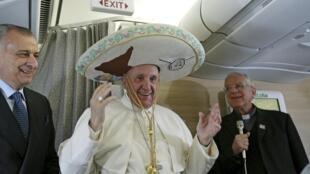 Le pape François, le 12 février 2016.
