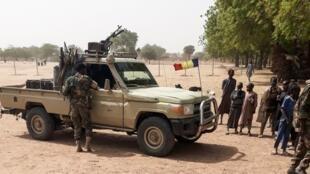 Wasu daga cikin sojojin Chadi da sukai aikin tallafawa dakarun Najeriya wajen yakar Boko Haram a Borno.