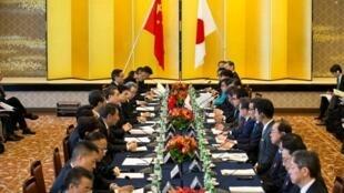 Cuộc họp đối thoại kinh tế cấp cao Nhật Bản - Trung Quốc, Tokyo, ngày 16/04/2018.