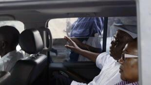 Etienne Tshisekedi et son épouse, Marthe Kasalu Jibikila, le 10 mars dernier à Kinshasa.