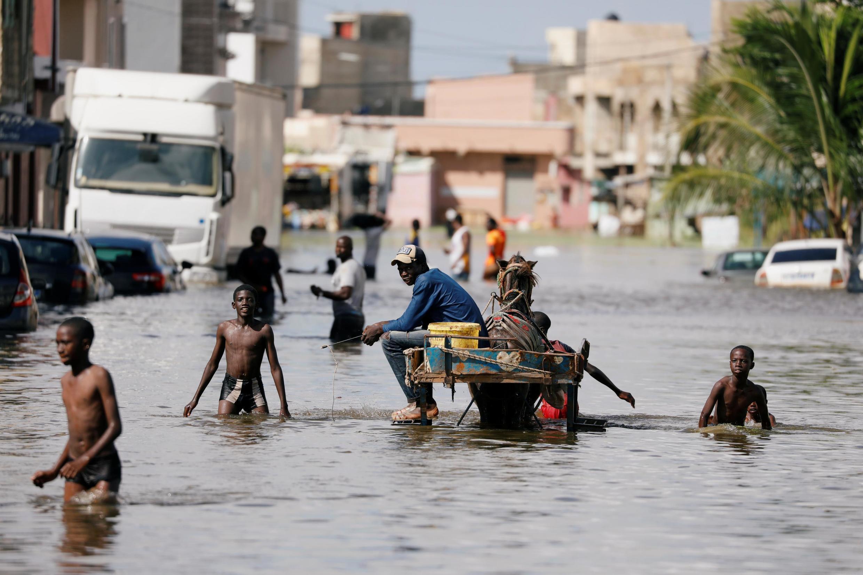 Dans le quartier de Keur Massar, près de Dakar, le 8 septembre 2020.