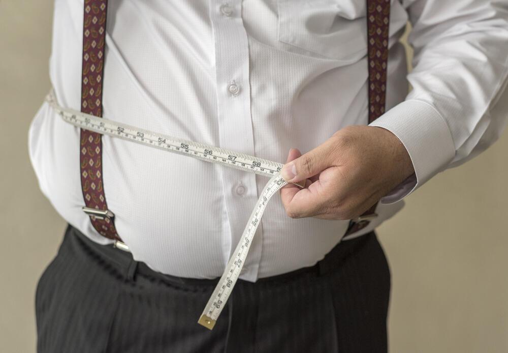 El hombre acumula la grasa de manera más perjudicial que la mujer.