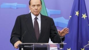 PM Italiya Silvio Berlusconi