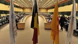 L'Assemblée parlementaire de la francophonie, instance qui regroupe près de 34 pays francophones, s'est achevée jeudi 12 juillet à Bruxelles.
