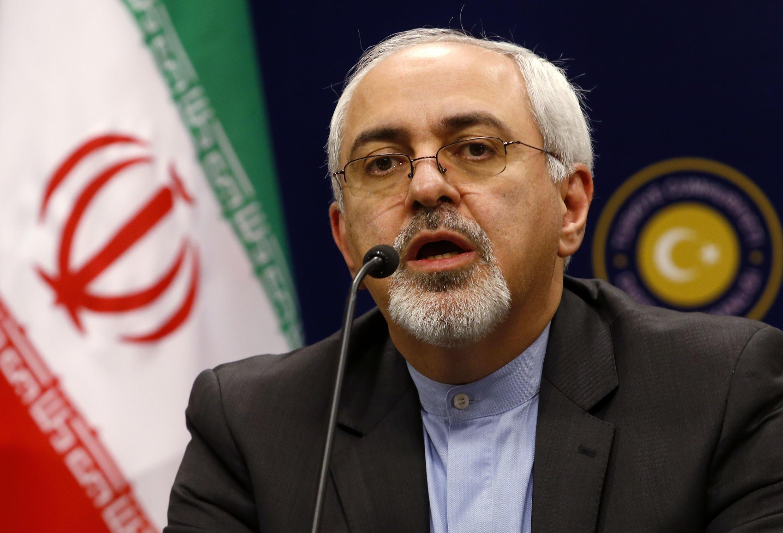 Le ministre iranien des Affaires étrangères Mohammad Javad Zarif a passé deux jours à Paris pour préparer la réunion de Genève.