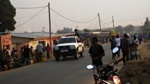 Rue de Bujumbura, capitale du Burundi.