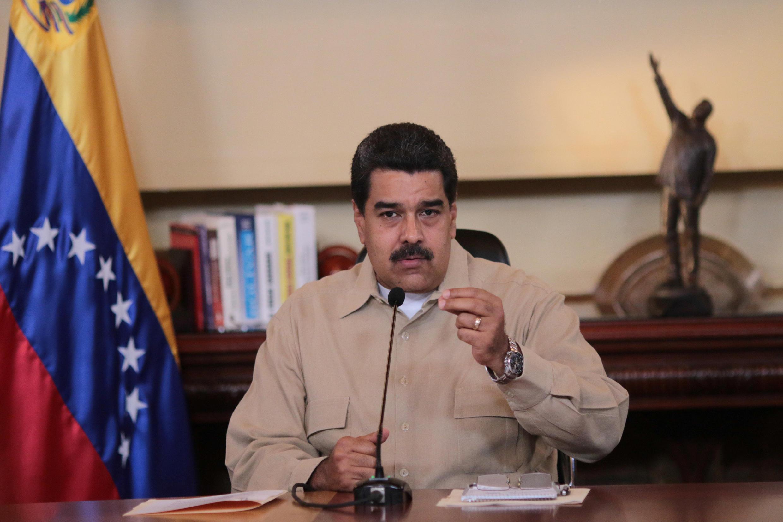 El presidente de Venezuela, Nicolás Maduro, el pasado 18 de abril de 2017.