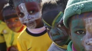 South African kids eager for the kick-off