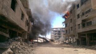Daraya, le 16 août 2016.
