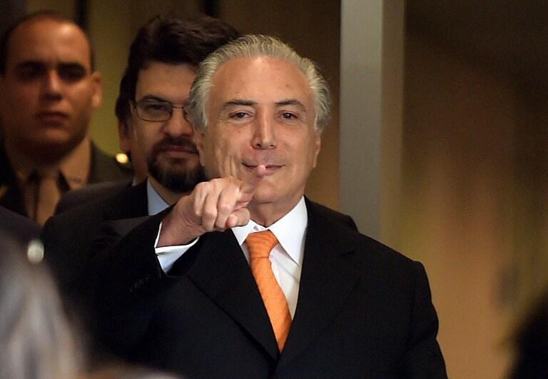 Rais wa Brazil Michel Temer akabiliwa na shutma ya rushwa.