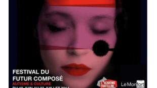 Affiche du festival du «Futur Composé».
