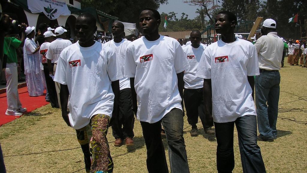 (Photo d'illustration) Les Imbonerakure, les jeunes du parti au pouvoir, sont considérés comme une milice par l'ONU.