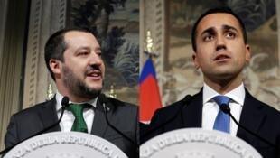Matteo Salvini and Luigi Di Maio