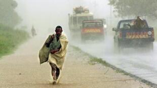 Chuvas em Moçambique. Imagem de arquivo.
