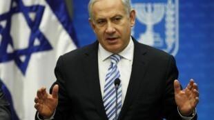O primeiro-ministro Benjamin Netanyahou quer ajudar a França a encontrar o assassino.