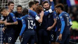 L'équipe de France de football reprend après une coupure de 10 mois.