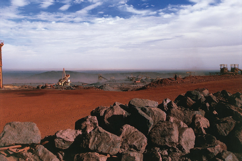 Mine de Zouérate, en Mauritanie.