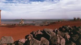 Mine de Zouérate, en Mauritanie. (Image d'illustration)