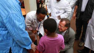 (Illustration) A Bukavu, le 26 novembre 2014, Martin Kobler a visité l'hôpital Panzi du Dr Denis Mukwege au moment où il recevait le Prix Sakharov 2014 pour la liberté de l'esprit au Parlement européen.