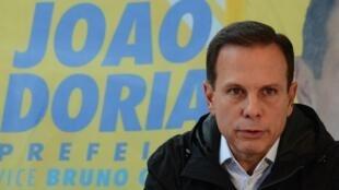 O prefeito eleito de São Paulo, João Doria (PSDB-SP)