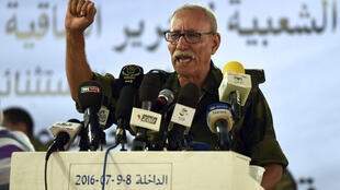 Brahim Ghali, líder da República Árabe Saharaui Democrática