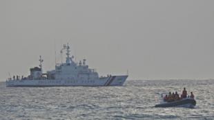菲律賓海岸警衛隊演習資料圖片