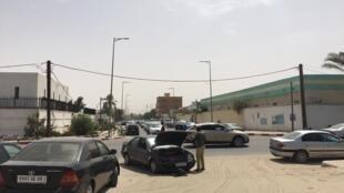Une rue de Nouakchott, Mauritanie, juin 2019.