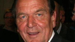 L'ancien chancelier allemand, Gerhard Schröder.