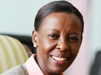 Louise Mushikiwabo, ministre des Affaires étrangères du Rwanda.