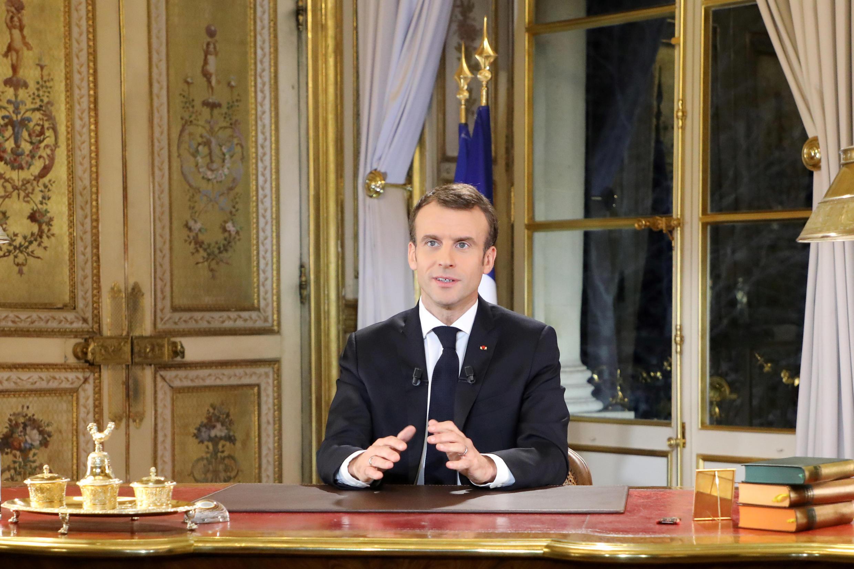 法國總統馬克龍12月10日講話