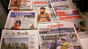 Diários franceses 18.11.2014
