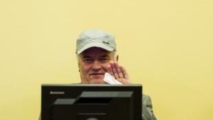 Ratko Mladic kiongozi wa zamani wa jeshi la Serbia