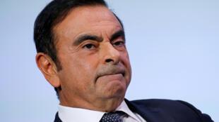 O ex-presidente da Renault-Nissan-Mitsubishi, Carlos Ghosn, preso há quase dois meses no Japão.