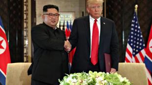 Donald Trump et Kim Jong-un se sont rencontrés ce matin.