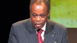 L'ancien Premier ministre du Togo, Edem Kodjo, en 2011.