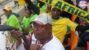 Les supporters des Bafanas Bafanas