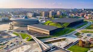 Cidade de Katowice, na Polônia