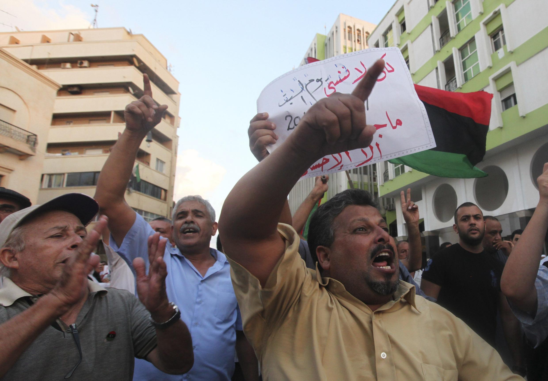 បាតុកម្មប្រឆាំងនឹងការវាយប្រហារទៅលើស្ថានកុងស៊ុលអាមេរិកនៅទីក្រុង Benghazi នៅប្រទេសលីប៊ី