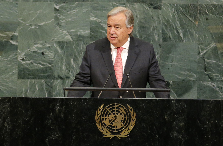 António Guterres, secretário-geral das Nações Unidas (ONU).