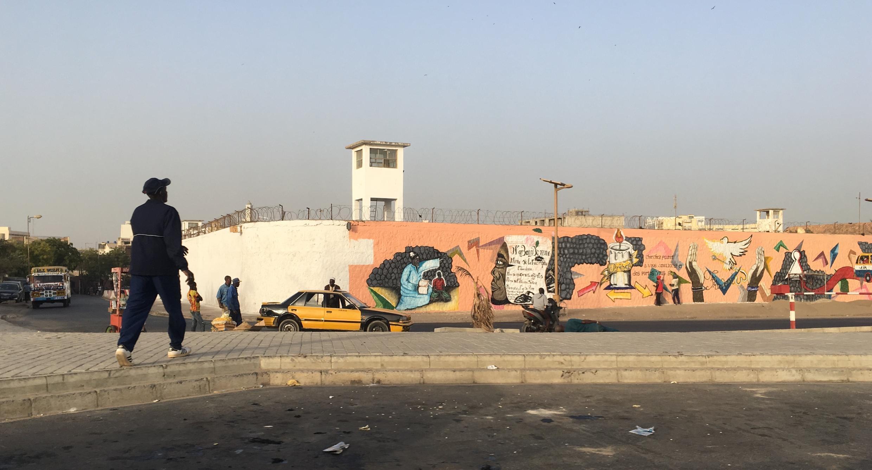 La prison de Rebeuss où est emprisonné le maire de Dakar Khalifa Sall.