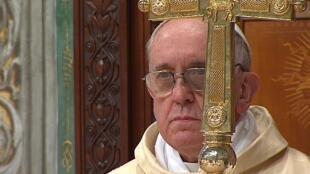 Jorge Mario Bergoglio, le pape François, le 14 mars 2013.
